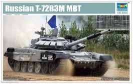 Tanque Russian T-72B3M MBT - TRUMPETER