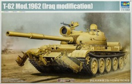 Tanque Russo T-62 Mod.1972 - Iraq Modification - TRUMPETER