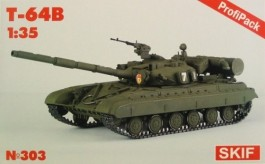 Tanque Russo T-64B - C/Photoetched EDUARD - Profipack - SKIF