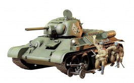 Tanque T-34/76 ChTZ Version - 1943                 35149 TAMIYA