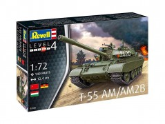 Tanque T-55 AM / AM2B                           03306 - REVELL ALEMA