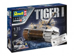 Tanque Tiger I - 75th Anniversary Edition - c/tintas,pinceis - REVELL ALEMA