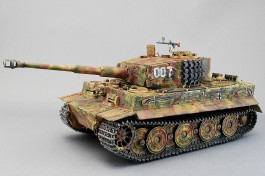Tanque Tiger I Ausf.E- German Heavy Tank - Early Production ZVEZDA