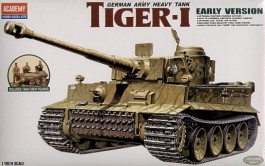 Tanque Tiger I Early Version - ACADEMY