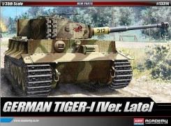 Tanque TIGER I - Late Version - ACADEMY