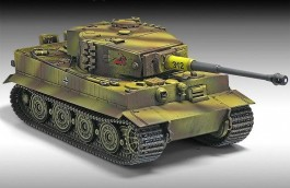 Tanque TIGER I - Late Version ACADEMY