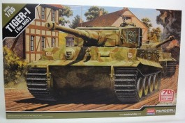 Tanque TIGER I - MID Version - 70th D-Day Anniversary - ACADEMY