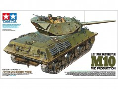 Tanque U.S. Tank Destroyer M10 (Mid Production) - TAMIYA