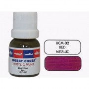 Tinta Red - Metallic - HOBBYCORES