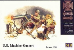 U.S. Machine Gunners - Europe 1944 MASTER BOX