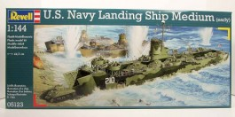 U.S.Navy Landing Ship Medium - EARLY - REVELL ALEMA