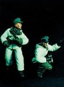 Waffen SS - Winter Dress - 2 Figures - WARRIORS