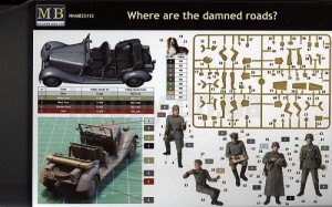 Where are the damned roads? - Inclui Veiculo MASTERBOX
