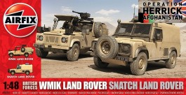 WMIK & Snatch Land Rover British Army Vehicles - AIRFIX
