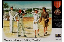 Women At War - Us Navy WAVES - MASTER BOX